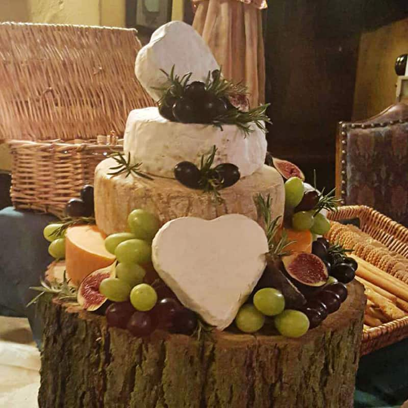 Cheese Wedding Cake Parlour Made